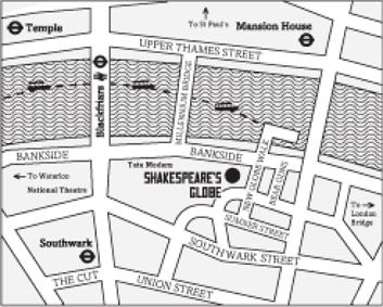 footer map 1 swan london bar & restaurant swan, shakespeare's globe